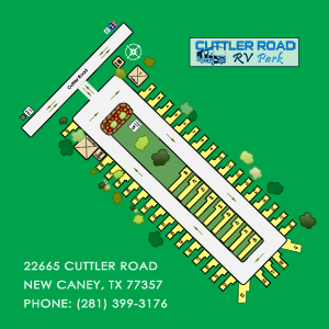 New Caney TX RV Park Map